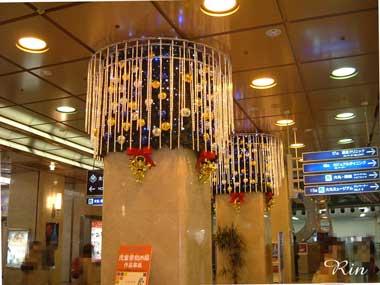Xmas大阪駅大丸前2005.jpg